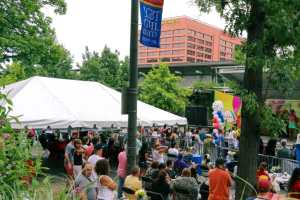 The Liberty Block Party in Philly
