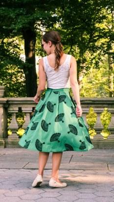 Tatyana Boutique fan skirt