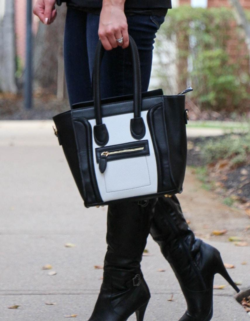 ami clubwear purse