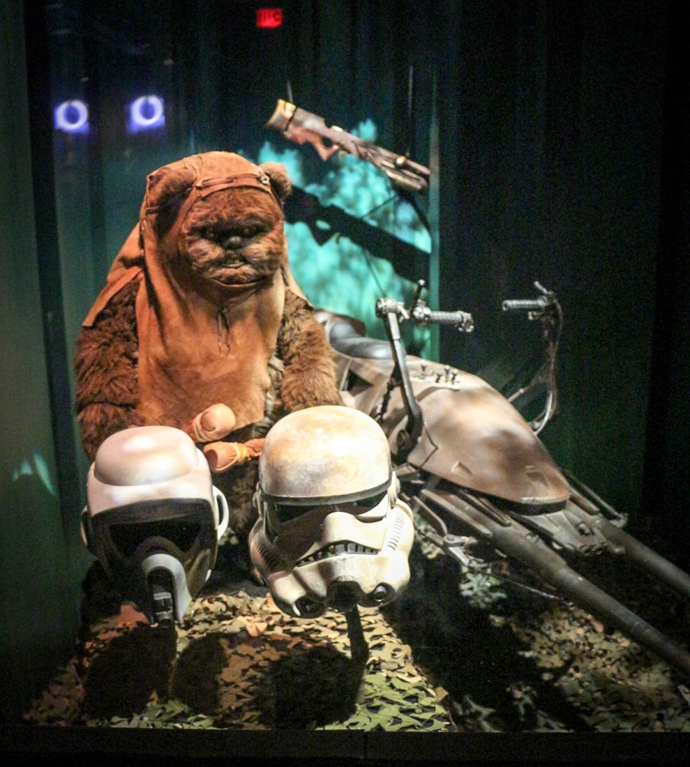 Ewok exhibit
