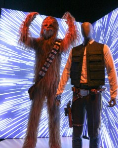 Chewbacca and Han Solo costumes