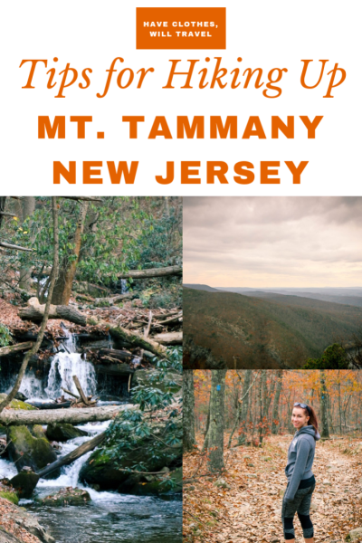 Hiking Up Mt. Tammany