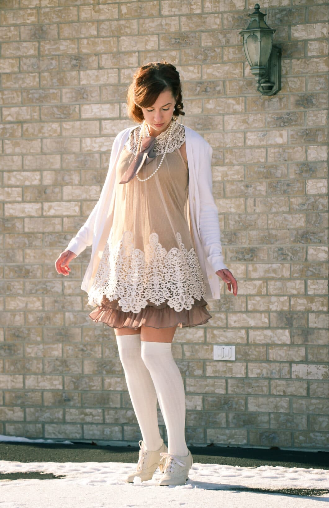 A Frilly Dress & a Feature