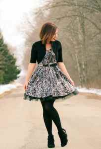 leopard print tulle dress