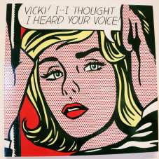 "Roy Lichtenstein, ""Vicki! I-I Thought I Heard Your Voice!"""