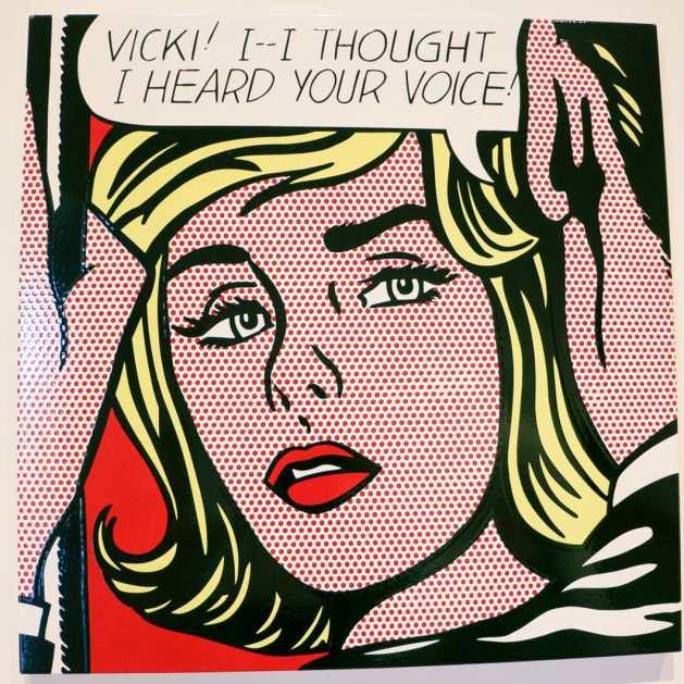 "Roy Lichtenstein, ""Vicki! I-I Thought I Heard Your Voice!"""