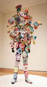 "Nick Cave, ""Soundsuit."" This was actually made to be worn!"