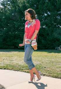 thredUP spring capsule outfit