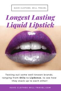 My Lipstick Experiment – What's the Longest Lasting Liquid Lipstick?