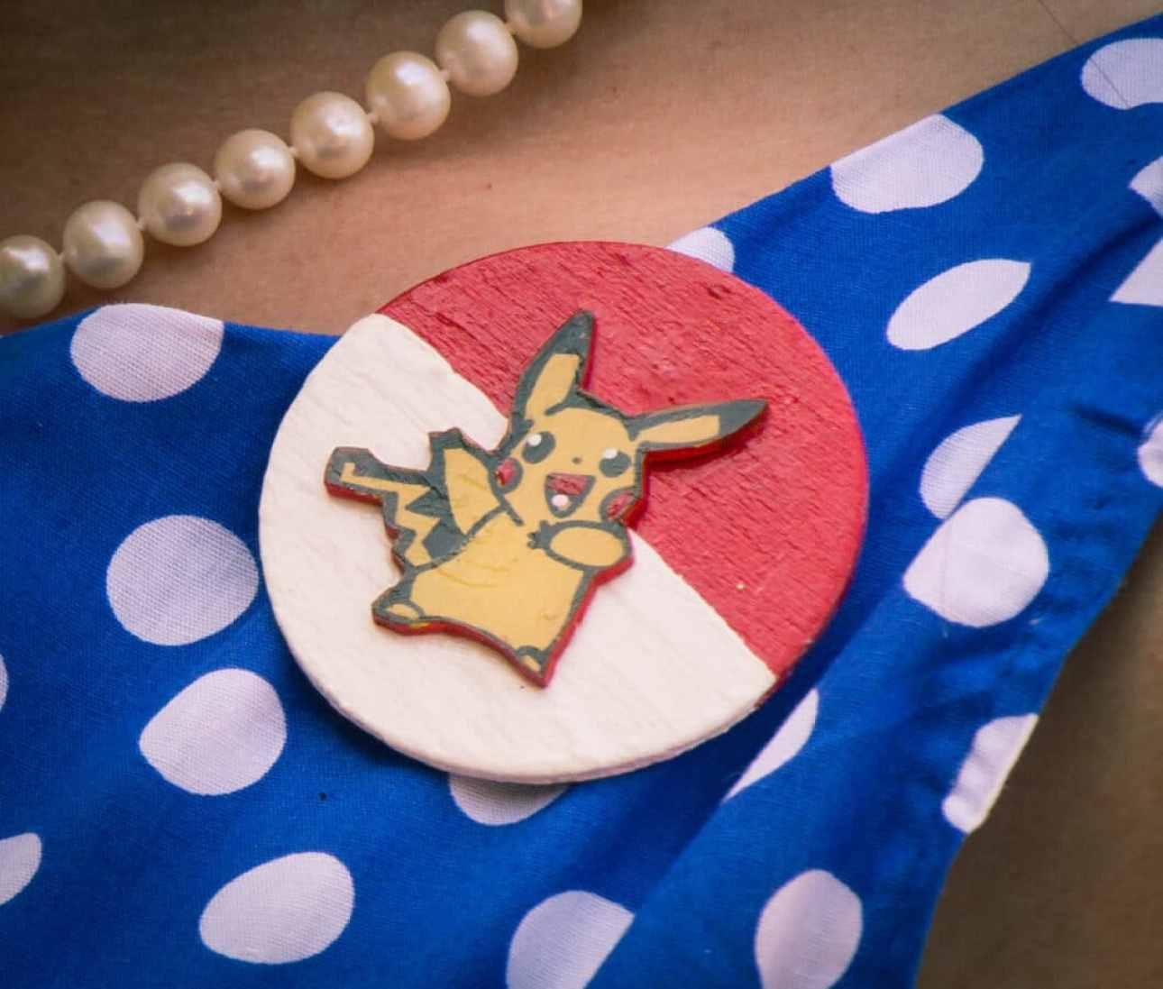 Pikachu pin