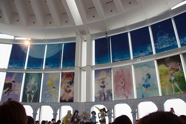 sailor moon exhibit