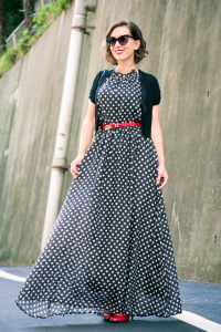 Makemechic maxi dress