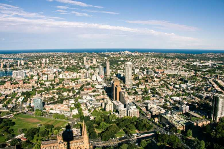 sydney tower view