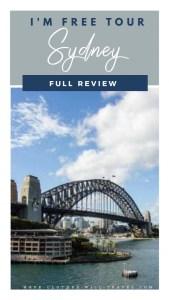 I'm Free Walking Tour of Sydney