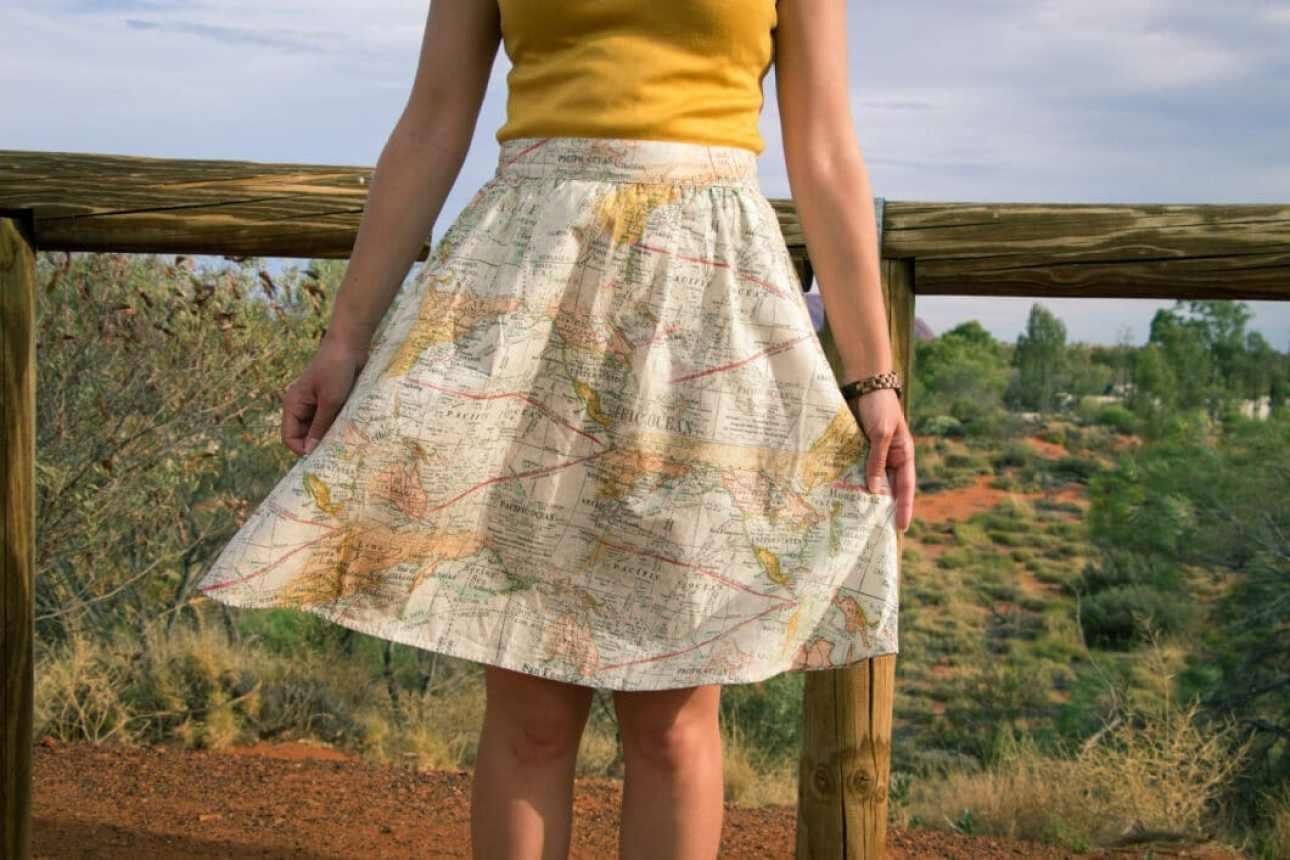 map skirt modcloth