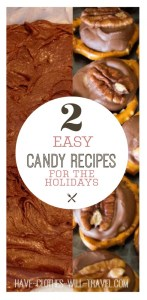 Candy Turtles & Fudge Recipes - 2 of the World's Easiest Candy Recipes for the Holidays