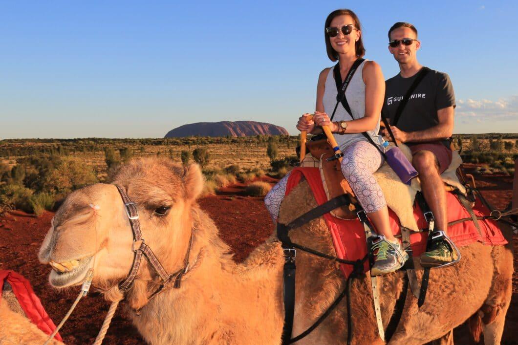 What to Do in Uluru at Sunset – Camel Rides & Dinners in the Desert