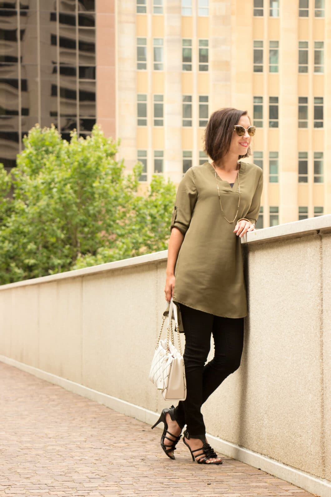 Casual & Chic Featuring a Green Tunic From Chic Me