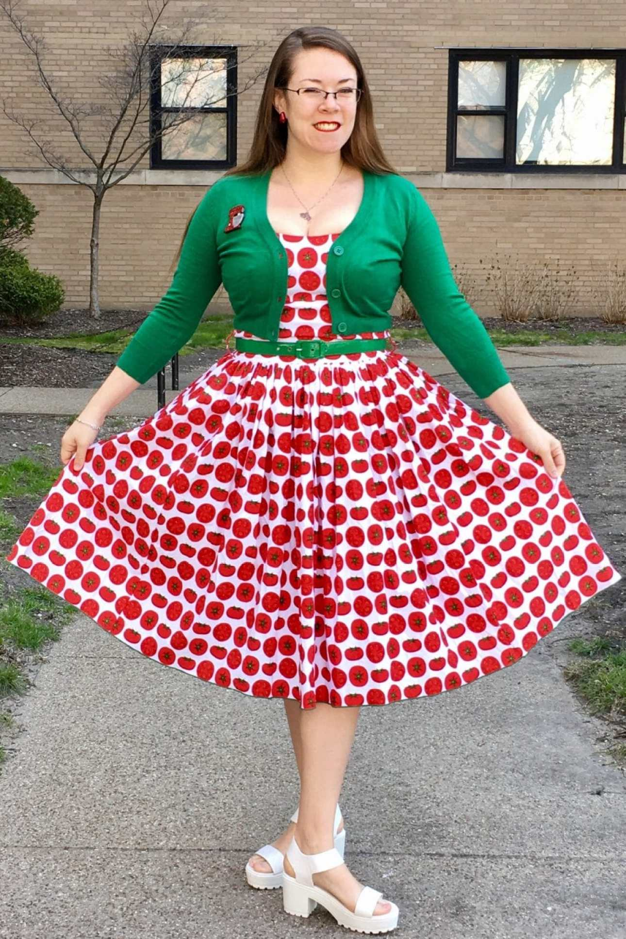 tomato-print-bernie-dexter-dress
