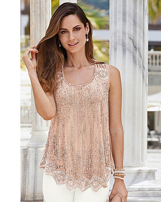 jd williams beaded top
