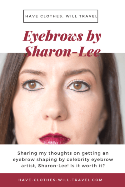 eyebrow artist Sharon-Lee