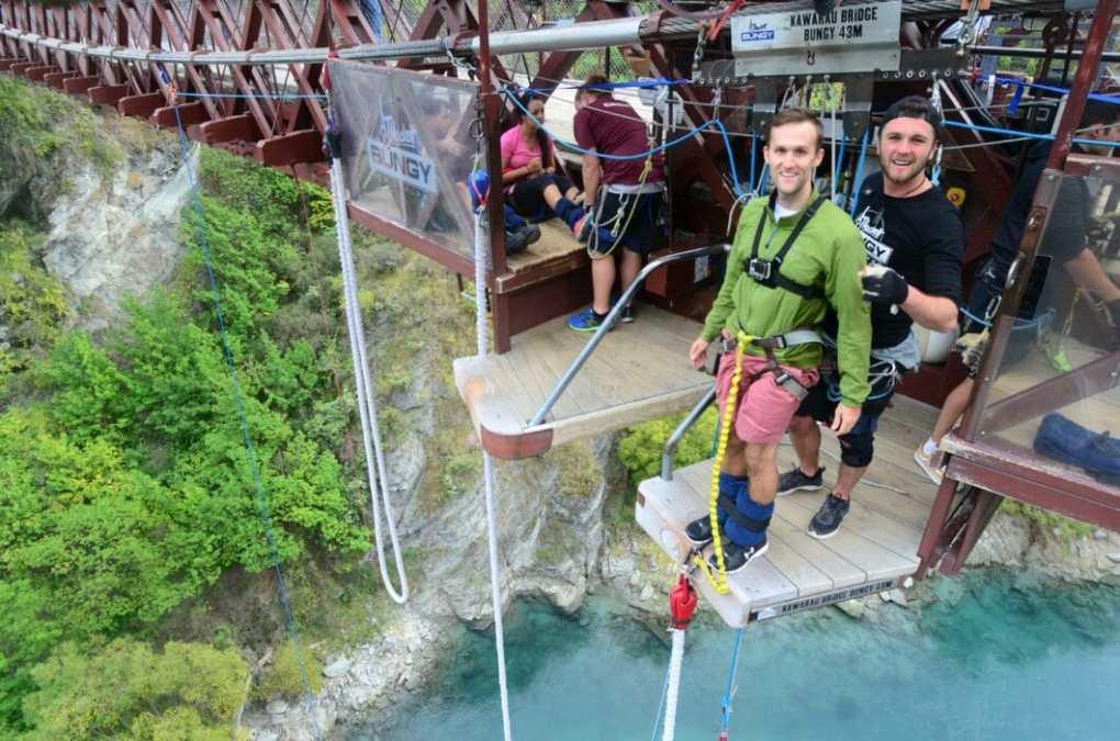 World Home of Bungy Jumping'- The Kawarau Bridge Bungy!