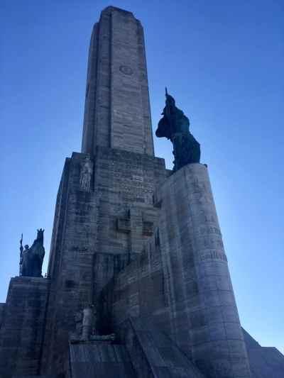 The National Flag Memorial in Rosario