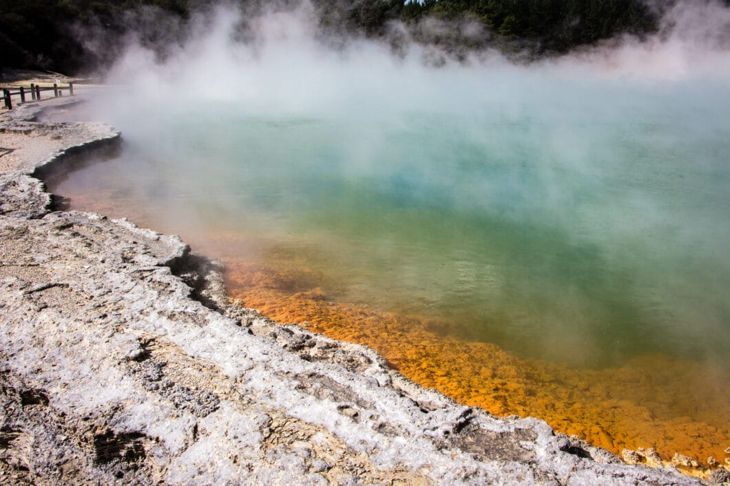 """Wai-O-Tapu Thermal Wonderland: """"New Zealand's Most Colorful Volcanic Area"""""""