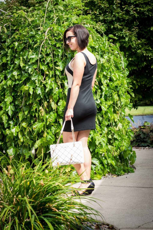ashionMia lace bodycon dress