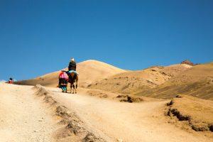 horse rides Rainbow Mountain
