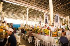 San Pedro Market Juice Stalls
