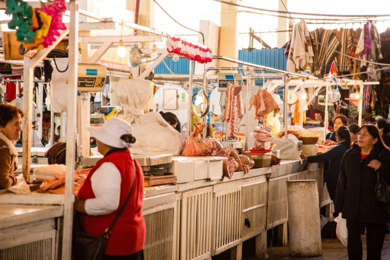 San Pedro market