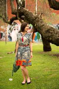 VIPShop silk midi dress