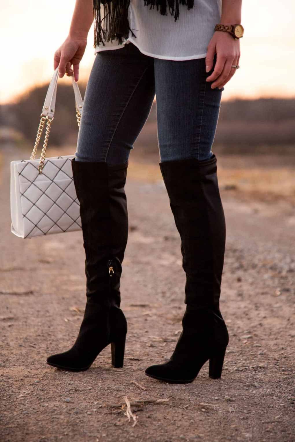 DSW over the knee boots