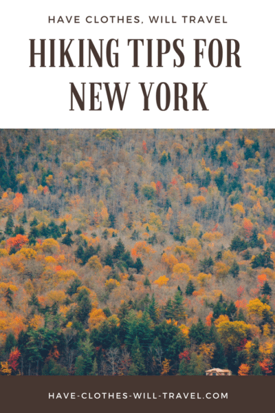 Hiking Tips for New York