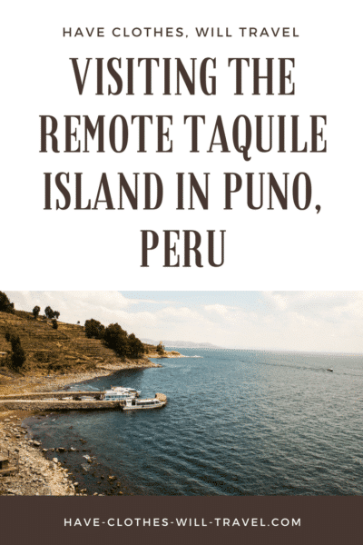 Visiting the Remote Taquile Island in Puno, Peru