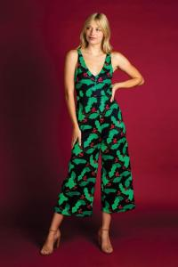 The Deck Yourselves Mistletoe Christmas Jumpsuit
