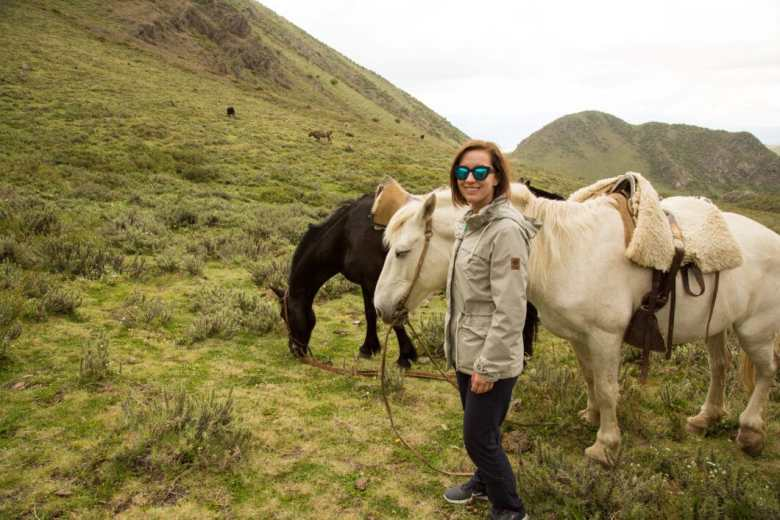 Me with my horse.