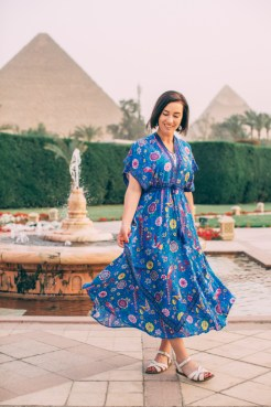 Egypt Outfit Idea for Dinner at Mena House Cairo