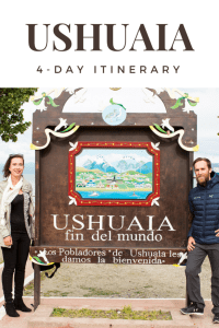 how to spend 4 days in Ushuaia