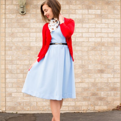 Accessorizing a Vintage Dress