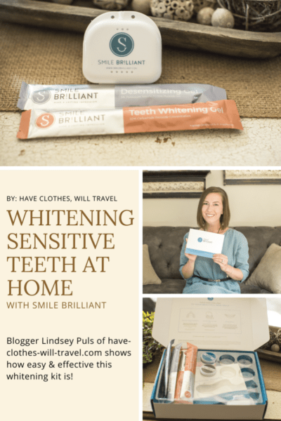 Whitening Sensitive at Home