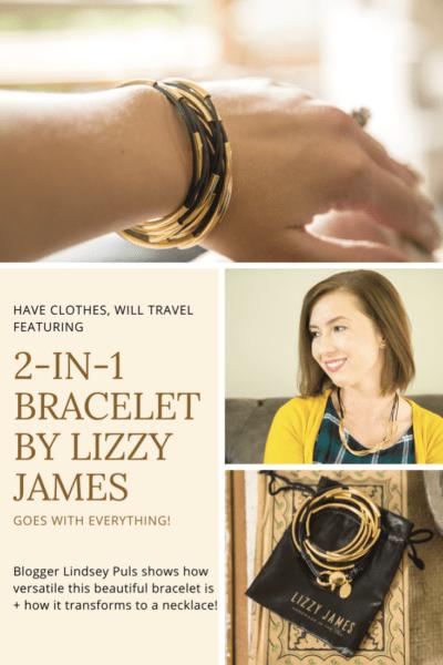 2 -in-1 bracelet by Lizzy James