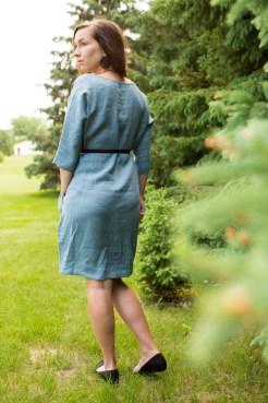 LOOSE-FIT LINEN DRESS MARRAKESH