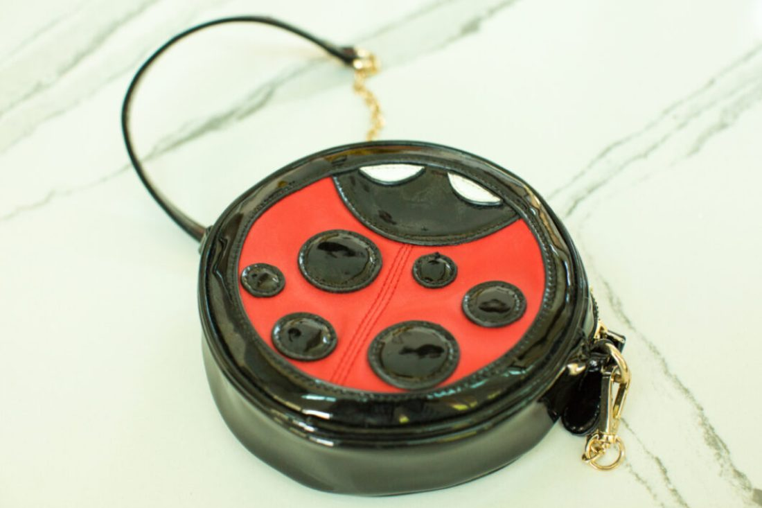 Lady bug purse