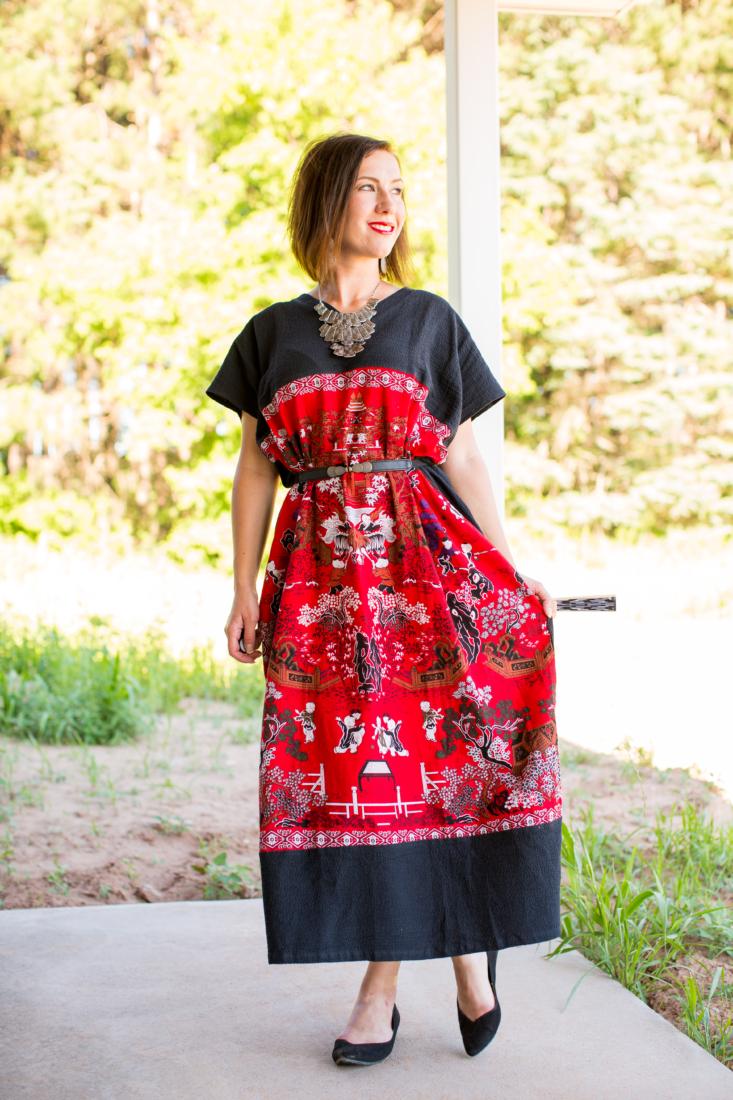 An Eye-Catching, Maxi Dress
