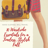 10 Wardrobe Essentials for a Timeless, Stylish Fall
