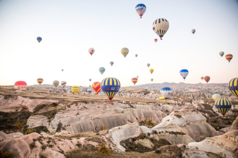 What It's Like to Ride a Hot Air Balloon in Cappadocia, Turkey with Butterfly Balloons