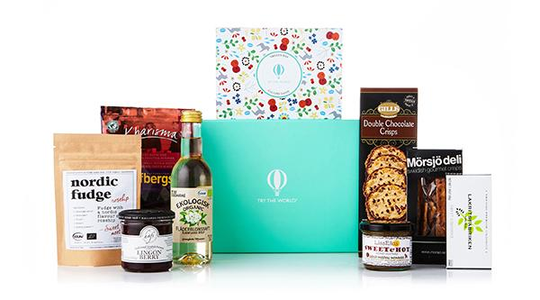 Try the World gift box