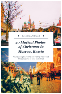 20 Magical Photos of Christmas in Moscow, Russia